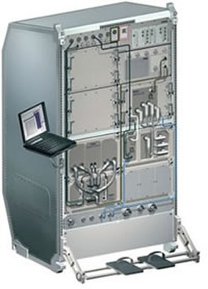 European Drawer Rack - The European Drawer Rack (EDR) with the Protein Crystallization Diagnostics Facility and the Facility for Adsorption and Surface Tension payloads integrated.