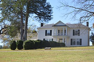 The Farm (Rocky Mount, Virginia) - Front of the house