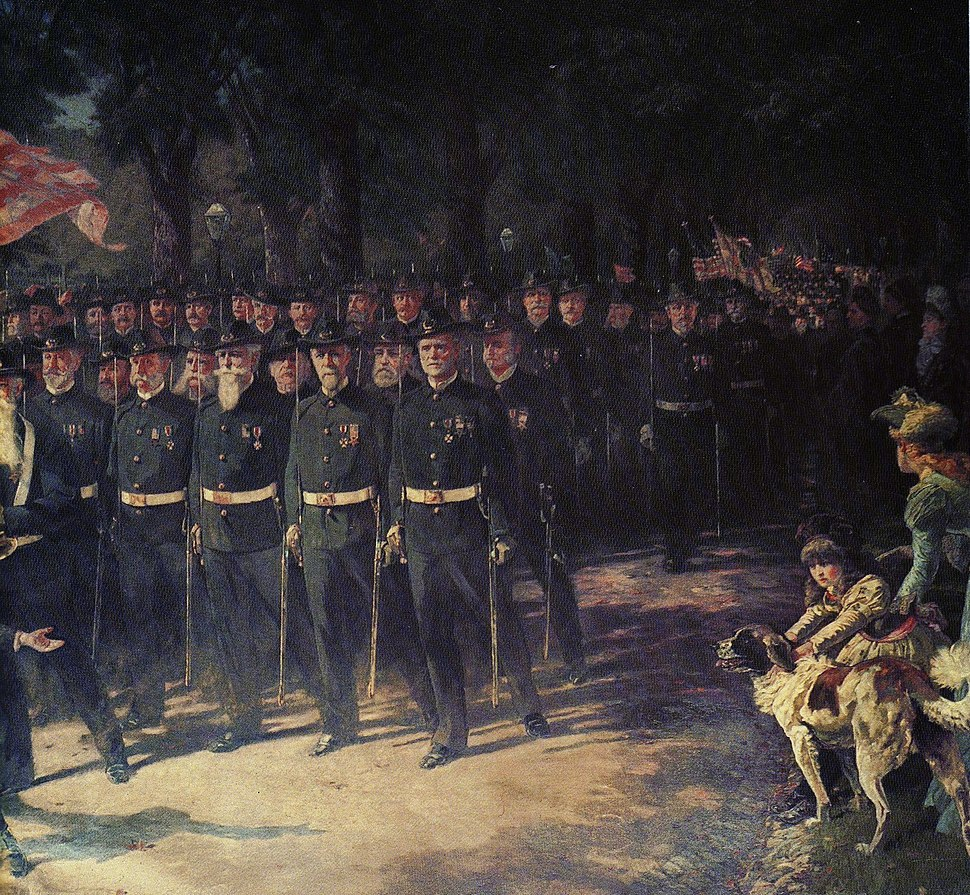 The March of Time, by Henry Sandham