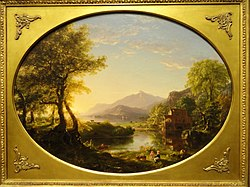 The Mill, Sunset, by Thomas Cole, 1844 - Nelson-Atkins Museum of Art - DSC09017.JPG