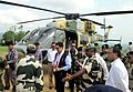 The Minister of State for Home Affairs, Shri Kiren Rijiju visiting the proposed Indo-Bangladesh border trade, at Kawrpuichhuah, in Tlabung, Lunglei district, Mizoram on May 27, 2015 (1).jpg