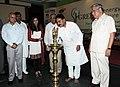 The Minister of State for Power, Shri Bharatsinh Solanki lighting the lamp to inaugurate the Green Energy Conference, in New Delhi on September 20, 2010.jpg
