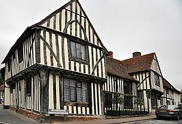 The Old Wool Hall uit 1464