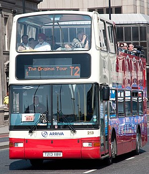 The Original Tour - Plaxton President bodied DAF DB 250 in April 2011