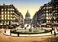 The Pantheon and the rue Soufflot, Paris, France, between ca. 1890 and ca. 1900.jpg
