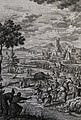 The Phillip Medhurst Picture Torah 311. The plague of frogs. Exodus cap 8 vv 2-7. Pintz.jpg