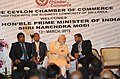 The Prime Minister, Shri Narendra Modi at the business meeting hosted by the Ceylon Chamber of Commerce, in Colombo, Sri Lanka on March 13, 2015.jpg