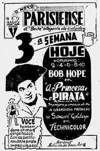 The Princess and the Pirate Brazilian announce 1945.png