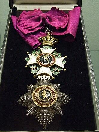 Orders, decorations, and medals of Belgium - Image: The Republic exhibition NM Prague 63