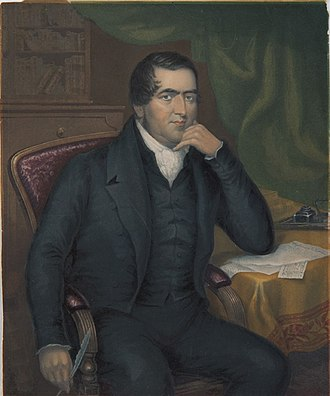 John Williams (missionary) - Painting by George Baxter, 1843
