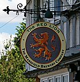 The Sign of The Red Lion, Broughton - geograph.org.uk - 1415734.jpg