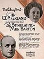 The Stimulating Mrs. Barton (1920) - Ad 1.jpg