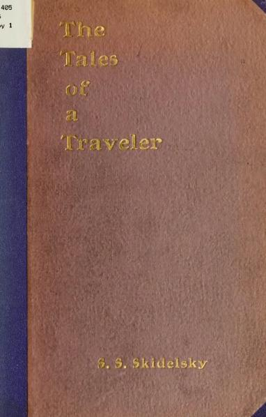 File:The Tales of a Traveller.djvu