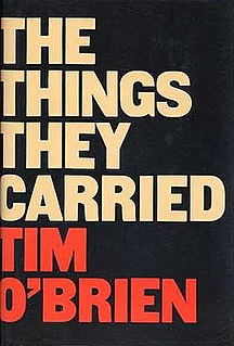 <i>The Things They Carried</i> book