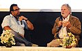 The former president of AMPAS, Mr. Sid Ganis at a workshop on foreign language film selection for Oscar Awards by academy of motion picture arts and sciences (AMPAS) (Hollywood), moderated by Shri Shivendra Dungarpur.jpg