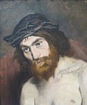 The head of Christ, by Édouard Manet.jpg