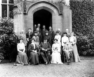 Lismore Castle - King Edward VII visiting the Duke of Devonshire in May 1904