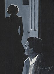 The postman always rings twice - painting by Jules Grandgagnage.jpg