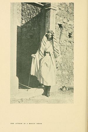 Rosita Forbes - A portrait of Rosita Forbes, published in The Secret of the Sahara: Kufara (1921); BHL25263784