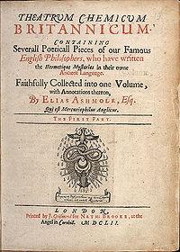 Theatrum Chemicum Britannicum cover
