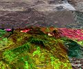 Thermal-infrared imaging sensors on NASA's Ikhana unmanned research aircraft recorded this image in the San Bernardino Mountains of Southern California.jpg