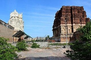 Pundarikakshan Perumal Temple building in India