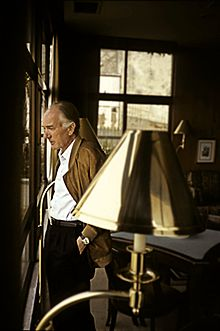 Thomas Bernhard in 1987