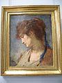 Thomas Couture tete de femme au ruban bleu 1873.JPG