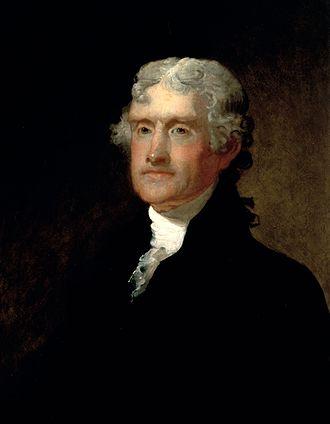 Matthew Harris Jouett - Thomas Jefferson