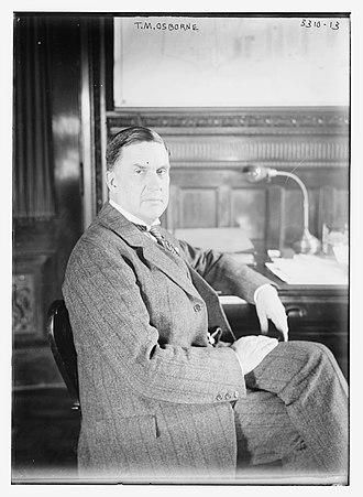 Thomas Mott Osborne - Osborne circa 1910
