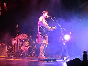 Throwing Muses - Throwing Muses: David Narcizo, Kristin Hersh, Bernard Georges - San Francisco, 2014