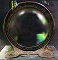 Tiffany studios, porta specchio, bronzo, vetro e mosaico, 1900 ca.jpg