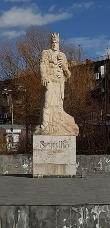Tigranes the Great statue in Yerevan by ArmAg (5).jpg