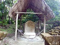 Tikal Stela 19 and Altar 6, Group R.jpg