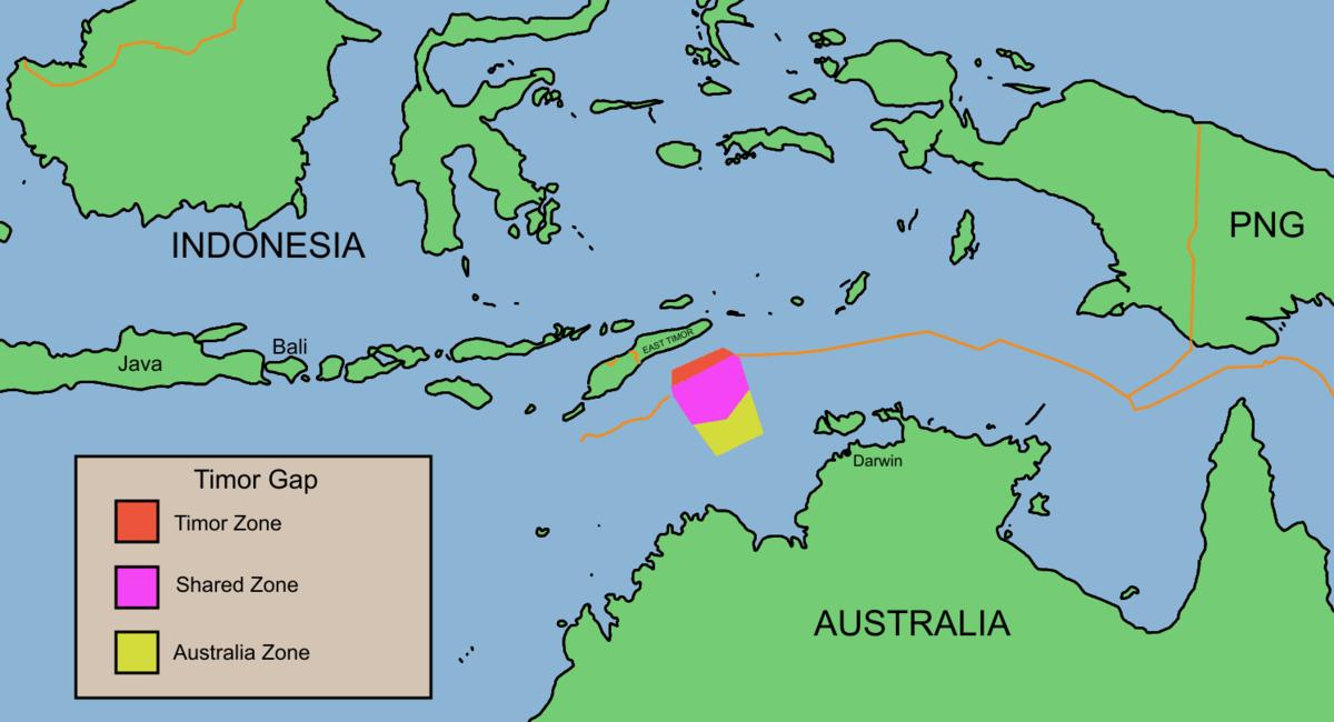 Australia Indonesia Border Wikipedia