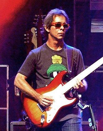 Tim Reynolds - Reynolds, in Chile with the Dave Matthews Band