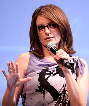 Tina Fey at the 2010 Comic Con in San Diego