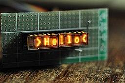 Tiny Dot-matrix LED Display by HP