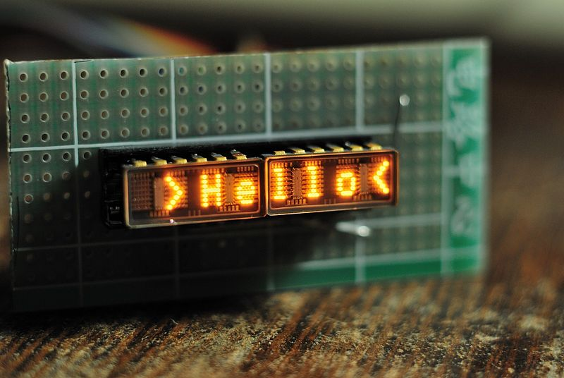 File:Tiny Dot-matrix LED Display by HP.jpg