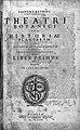 Title page of Theatri Botanici, 1658 Wellcome L0001150.jpg