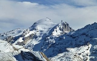 Titlis Swiss mountain of the Urner Alps