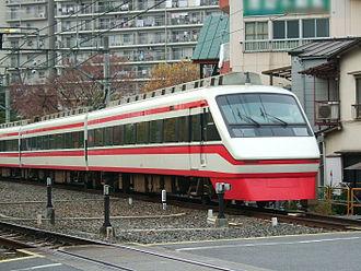 Tobu 200 series - The 250 series set in 2005