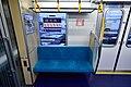 Tokyo Metro 13000 series interior seat 2 20180127.jpg