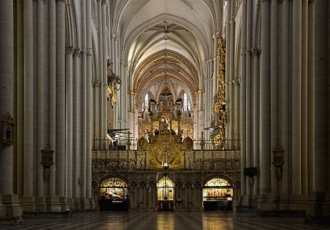 Toledo Catedral de Santa Maria int