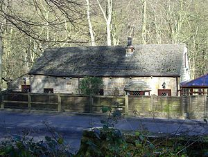 Middlewood, South Yorkshire - Toll Bar Cottage is now a private dwelling.