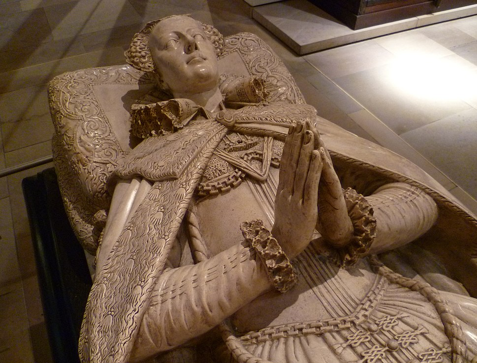 Tomb effigy of Mary, Queen of Scots (copy)