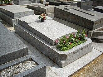 Albert Préjean - His grave in Auteuil Cemetery (Paris)