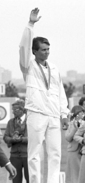 Tomi Poikolainen - Poikolainen at the 1980 Olympics
