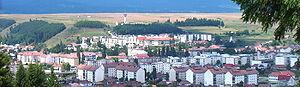 Toplița - General view of Toplița