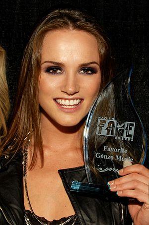 Tori Black - Black at the 2010 FAME Awards